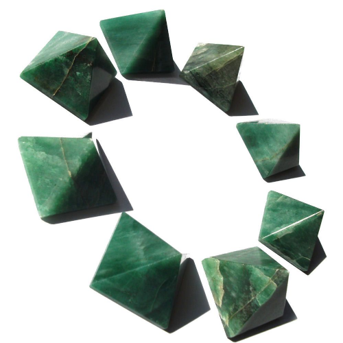 Green Aventurine Gemstone Pyramid